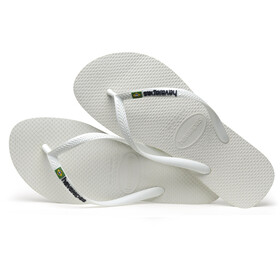 havaianas Slim Animals sandaalit Naiset, white/coralnew